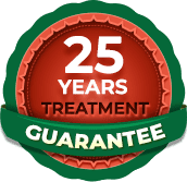 manufacturer treatment guarantee
